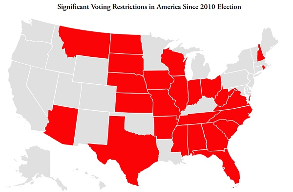 New Voting Restrictions in America